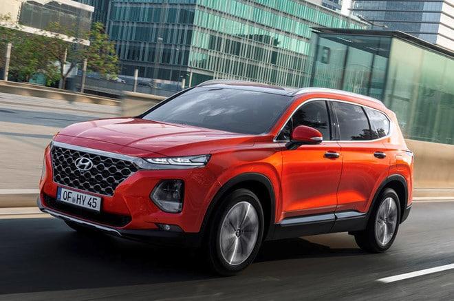 Hyundai SantaFe 2019 se co them tinh nang cam bien van tay hinh anh 3